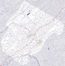 Virginia County Maps by Bridgehunter Com Rockbridge County Virginia