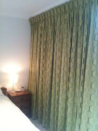 contemporary triple pleat curtains