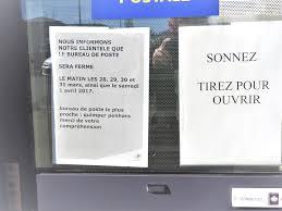 le bureau de poste le plus proche fermetures annoncées cette semaine à la poste de kermoysan