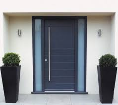 teak wood front double door designs for houses with black door
