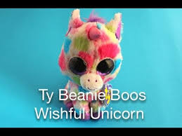ty beanie boos wishful unicorn
