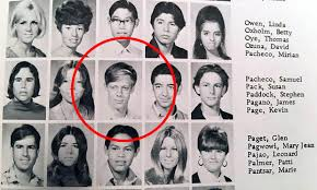 yearbook from high school las vegas shooter stephen paddocks high school yearbook photos