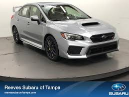 subaru impreza wrx 2018 new 2018 subaru wrx sti limited manual w wing spoiler 4dr car in