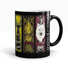 drop shipping game of thrones mugs tribal totem mug color