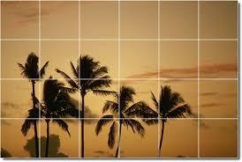 tile murals tropical photo ceramic tile mural id 46023 4x6