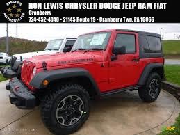 fiat jeep wrangler 2017 firecracker red jeep wrangler rubicon 4x4 116783507