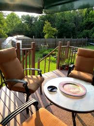 backyard deck patio table free stock photo public domain pictures