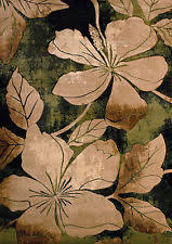 Area Rugs Tropical Green Tropical Area Rugs Ebay