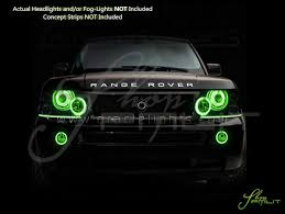 land rover green 03 09 land rover range rover plasma halo rings head fog bulbs
