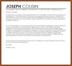architecture cover letter apa examples
