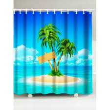 Shower Curtain Beach Theme Beach Shower Curtains Cheap Casual Style Online Free Shipping At