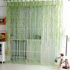 Living Room Curtains With Valance by Popular Willow Sheer Curtains Buy Cheap Willow Sheer Curtains Lots