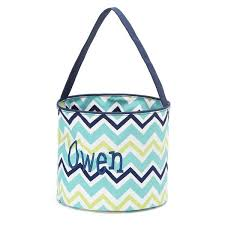 personalized basket personalized easter basket chevron gifts happen here
