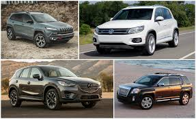 jeep crossover 2015 practical matters every compact crossover suv ranked from worst