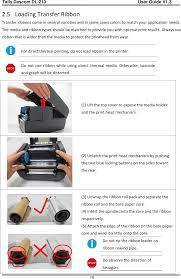 dl2101 label u0026 barcode printer user manual tally dascom dt 210 230