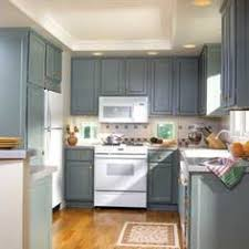 Grey Kitchen Cabinets With White Appliances Blue Kitchen Walls With White Cabinets Cabinets In Dusty Blue