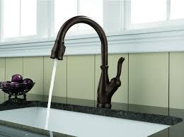 delta leland kitchen faucet delta 9178 rb dst leland single handle pull kitchen faucet