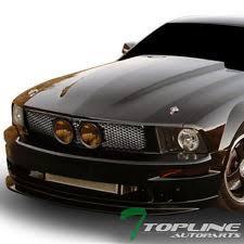 2009 Mustang Gt Black Mustang Grille Fog Lights Ebay