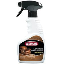 Leather Sofas Cleaner Weiman Leather Cleaner And Conditioner Uv Protection