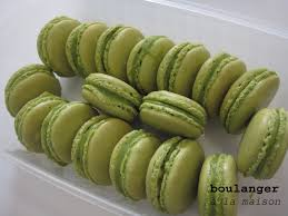 you can do it at home green tea macarons