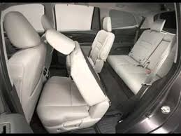 Honda Pilot Interior Photos All New 2016 Honda Pilot Us Spec Interior Youtube
