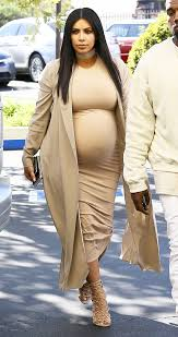 Kim Kardashian Pregnant Meme - kim kardashian s birthday dress flaunts pregnant figure in tight