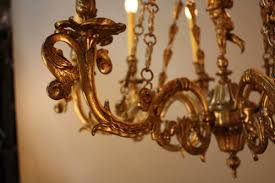 Art Nouveau Chandelier Elegant Italian Art Nouveau Bronze Chandelier Lu91362823572