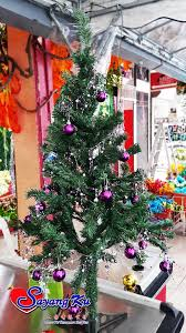 christmas tree 4ft 120cm only tree accessories decoration not