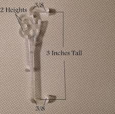 3 inch valance clips horizontal blind parts easy fix