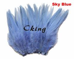 online buy wholesale strung feather blue from china strung feather