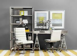 le de bureau jaune design d intérieur deco bureau jaune gris bureau maison de