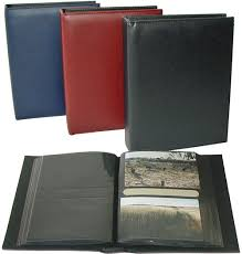 acid free photo album barcond albums walther deluxe black page slip in 7x5 acid free