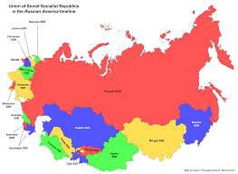 Russia Physical Map Physical Map by Russia And The Republics Physical Map