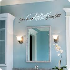 Mirror Decals For Bathrooms - bathroom wall decals quotes and sayings wall written