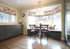 bay window kitchen ideas kitchen popular kitchen window treatment with treatments plus