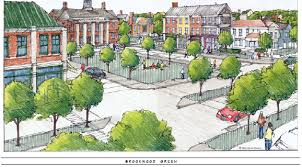 Home Design Center In Nj Town Center Plan At Byram Village Center Smart Growth Award