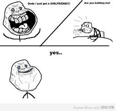 Forever Alone Guy Meme - alone cereal cereal guy forever forever alone image 456217