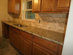 tile backsplash kitchen ideas backsplash with gold granite countertop here are santa cecilia