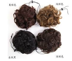 hair bun clip clip in remy human hair picture more detailed picture about 100