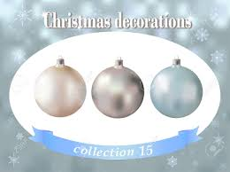 decorations collection of white silver and light