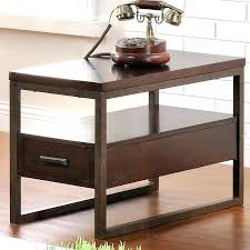 side table with power outlet end table with power outlet medium size of chair side end table with