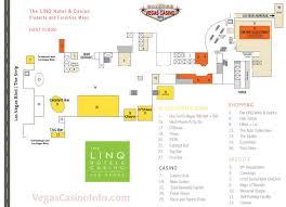 Unlv Map The Linq Las Vegas Map Alligators In Texas Map