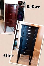 Jewelry Chest Armoire Refurbished Jewelry Armoire By Jen Jewelry Armoires