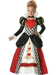 halloween costume kid kids queen of hearts girls deluxe costume 121 99 the costume land