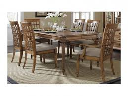 tropical dining room furniture dining table p141 10 palm court tropical progressive outlet discount