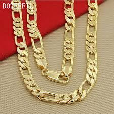 chain link necklace chunky images High fashion 8mm 22 inches gold chain link necklace chunky males jpg