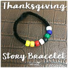 fluttering through grade the story of thanksgiving bracelet