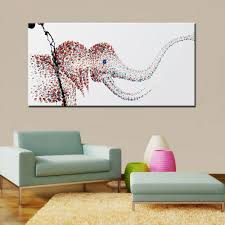 mintura abstract elephant modern canvas oil painting 67 47