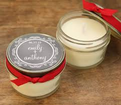 personalized candle favors best 25 candle wedding favors ideas on candle favors