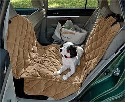 dog hammock car seat protector quilted microfiber half hammock